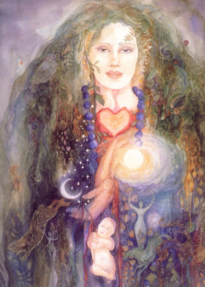 An Image of the Goddess