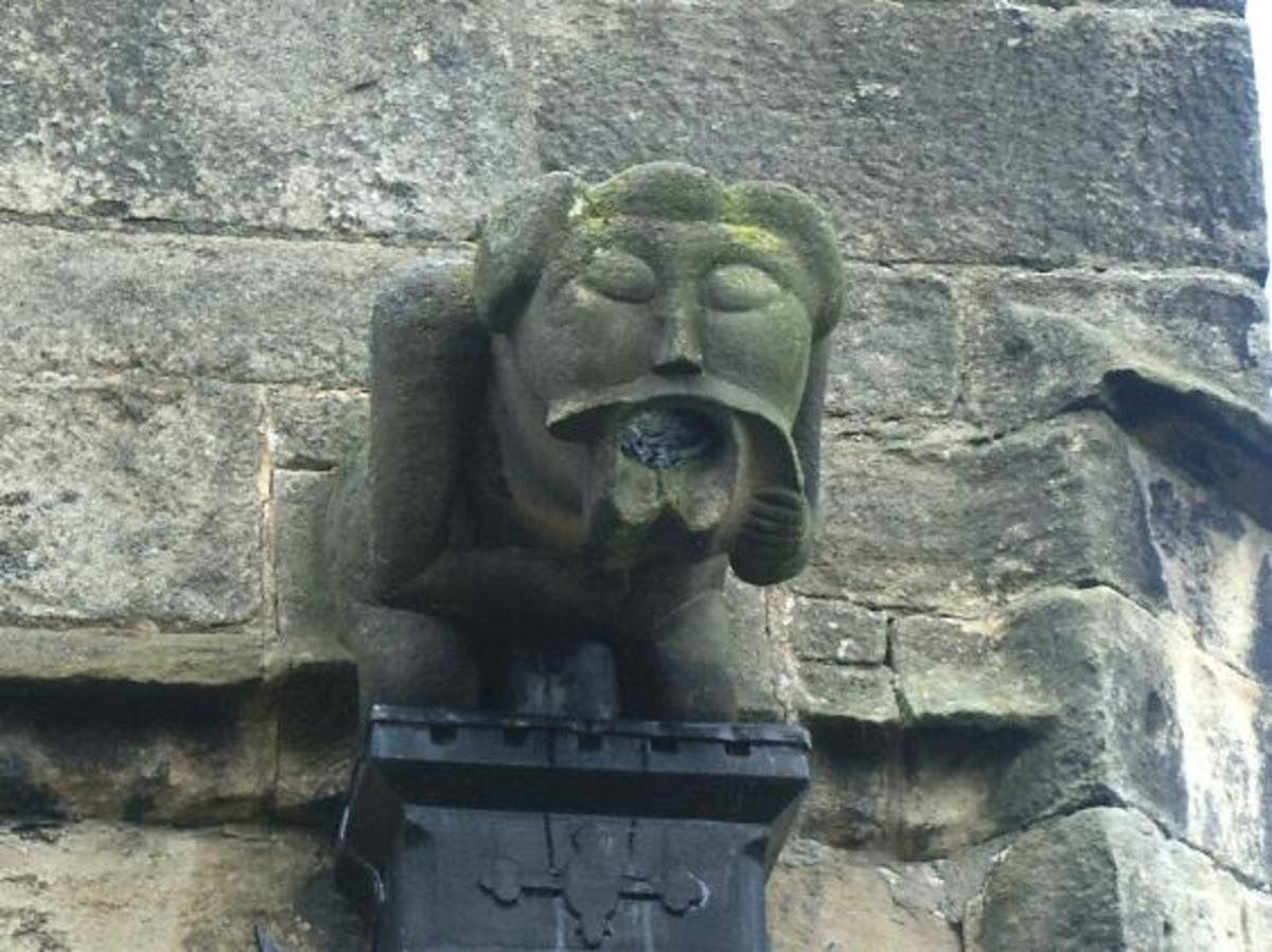 Gargoyle on Christian Church