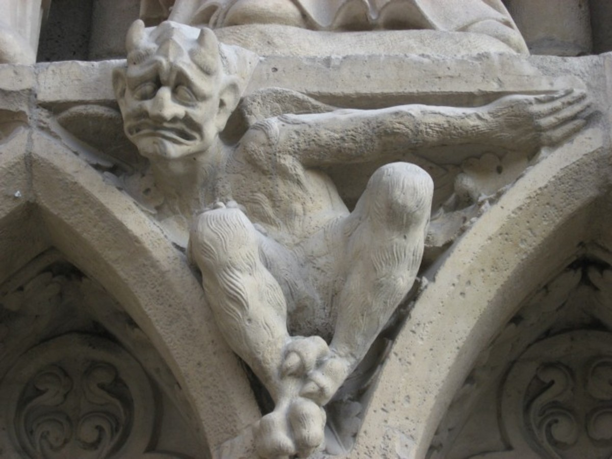 Pagan Gargoyle on Christian Church