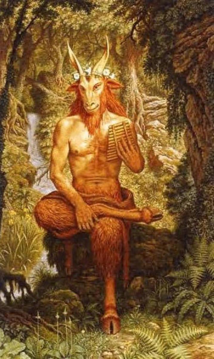 The Horned God 'Pan'