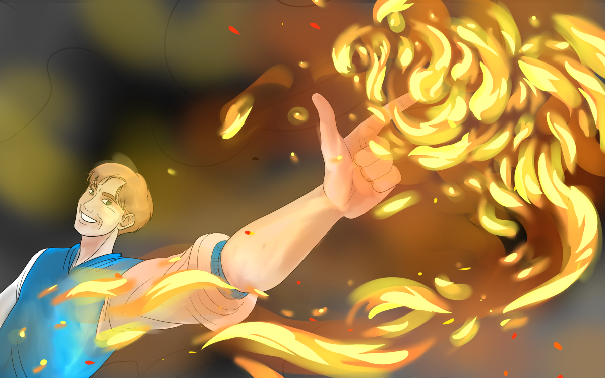 If you chose a superpower, would you choose the power of fire?