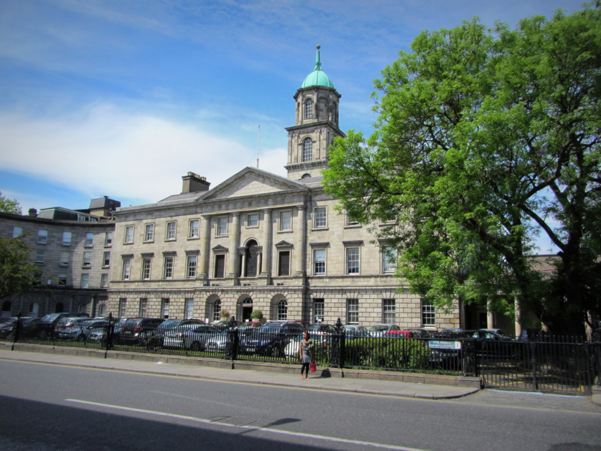 The Rotunda Hospital in Dublin where Mary Sutton died