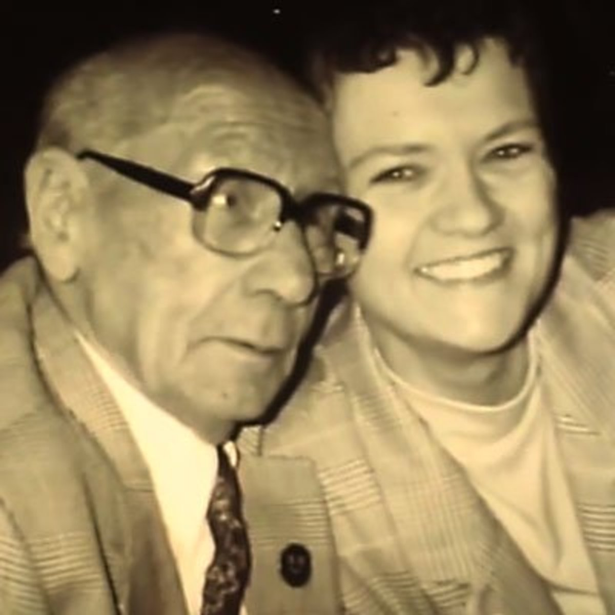 Sonny Sutton and Jenny Cockell
