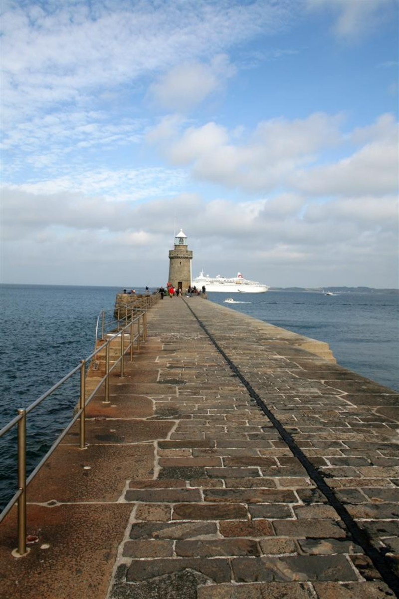 The Guernsey Lighthouse