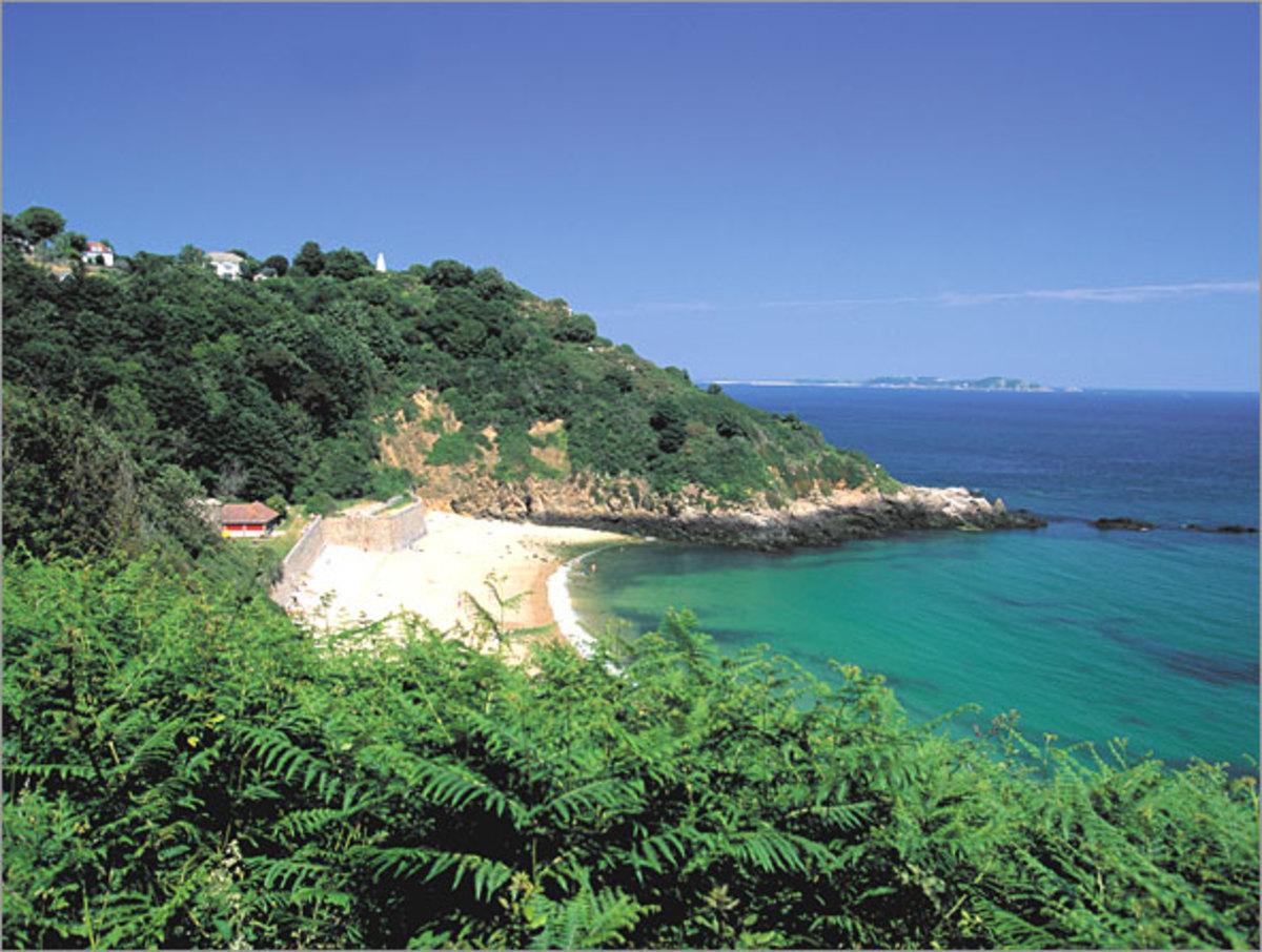 Fermain Bay Guernsey