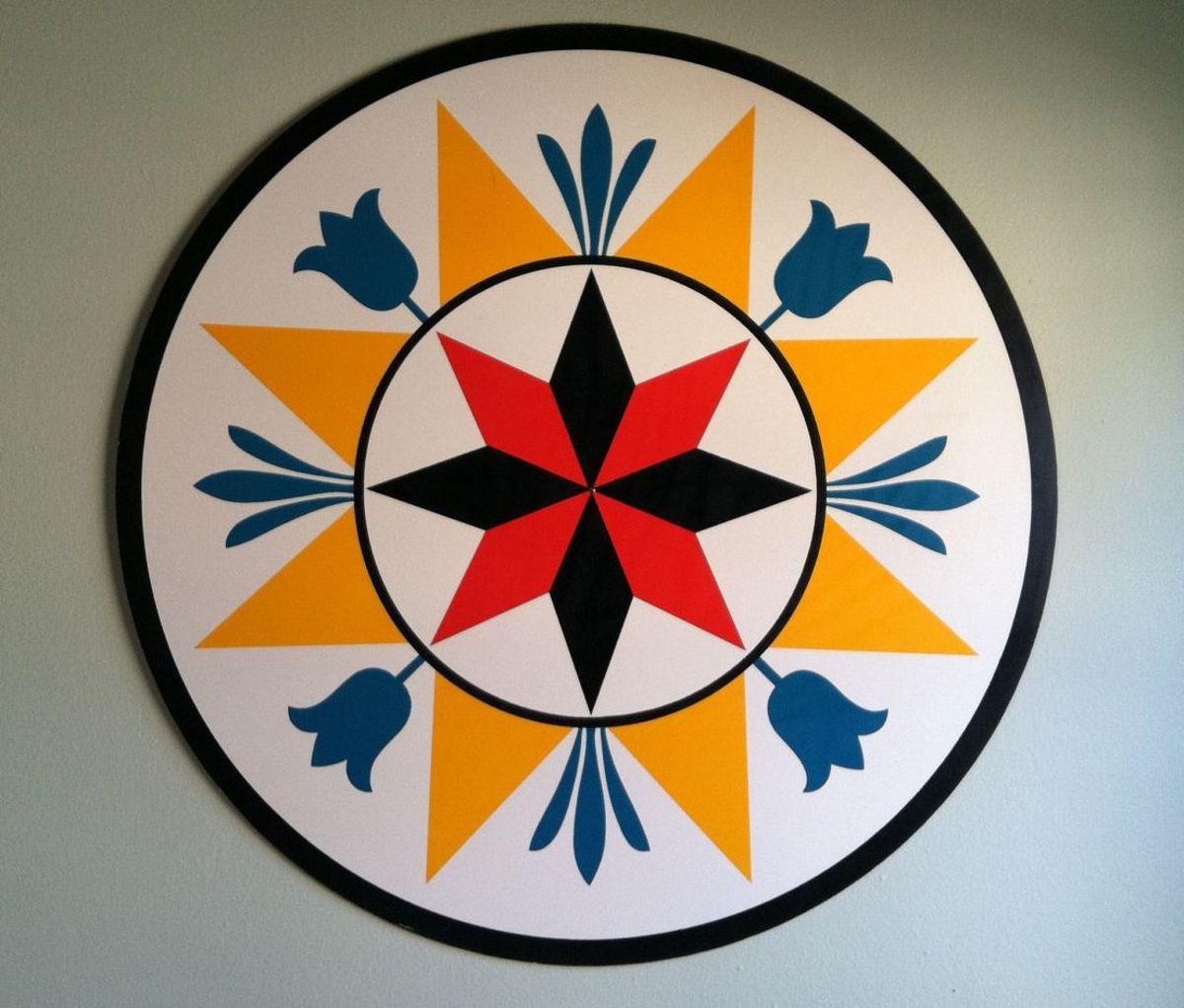 Hex Sign prosperity symbol