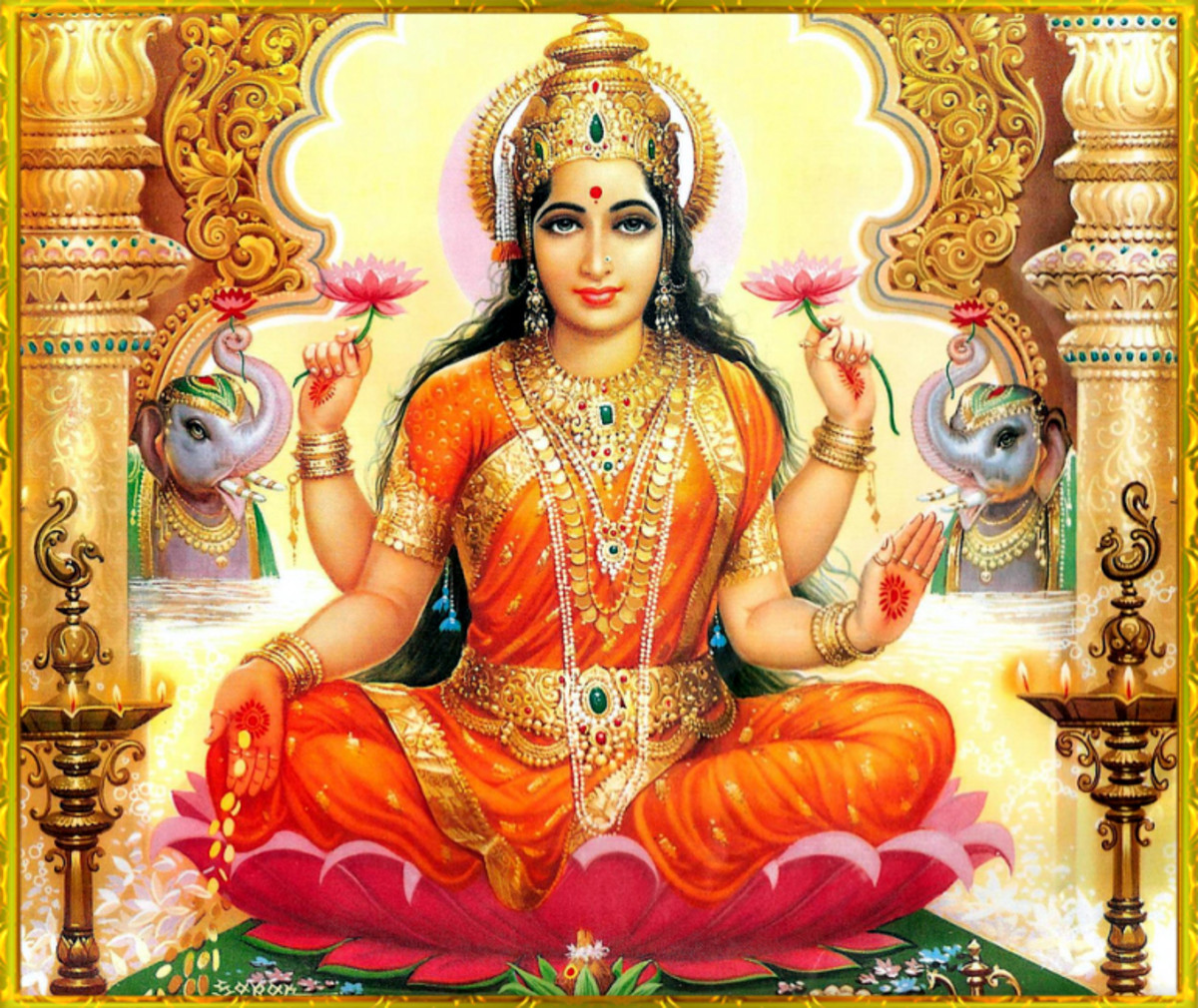 The Goddess Lakshmi