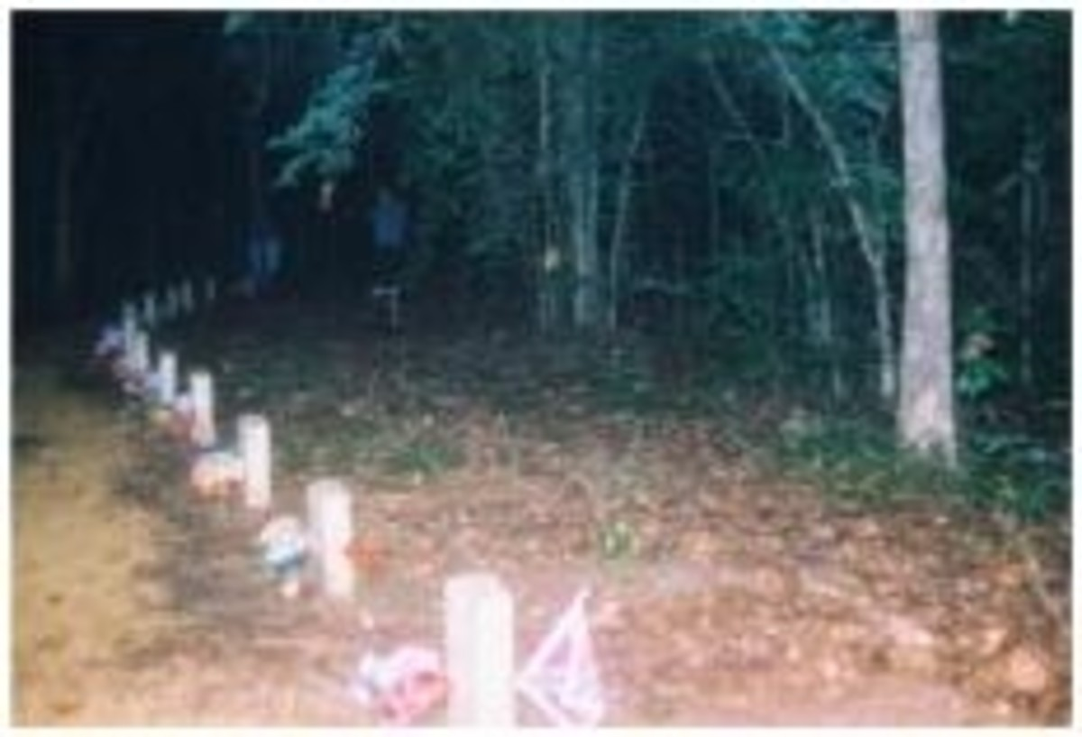 The 13 (Thirteen!) Graves of Unknown Soldiers - face AWAY from the path. Wonder why?