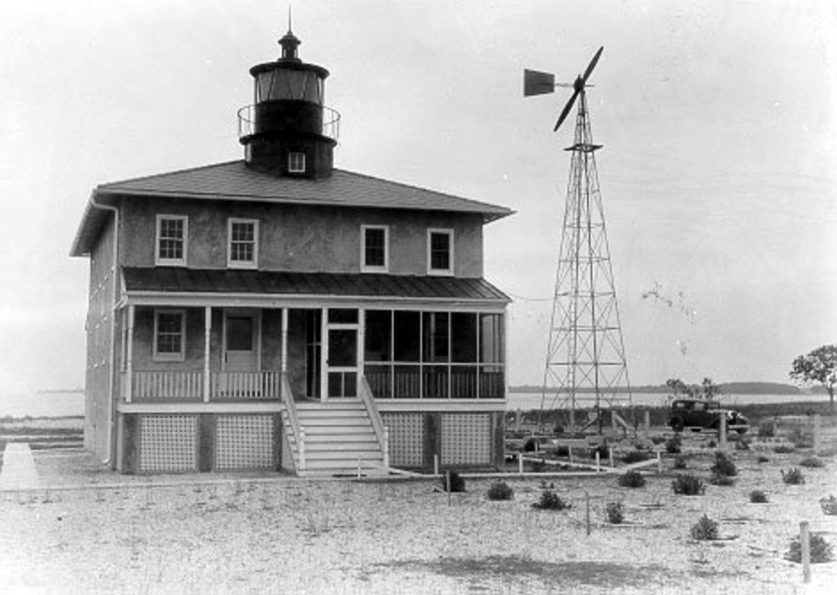 Point Lookout Lighthouse circa 1930