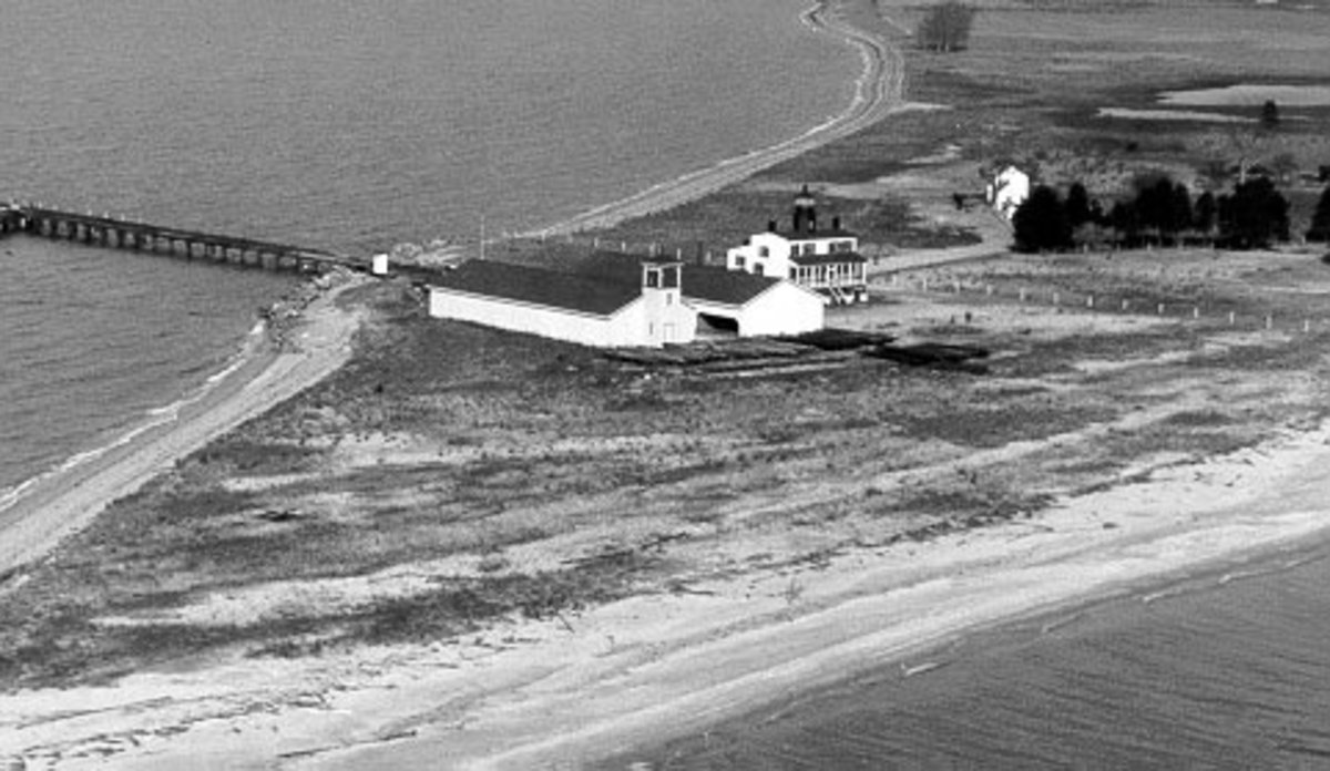 Point Lookout Lighthouse - Early 20th century