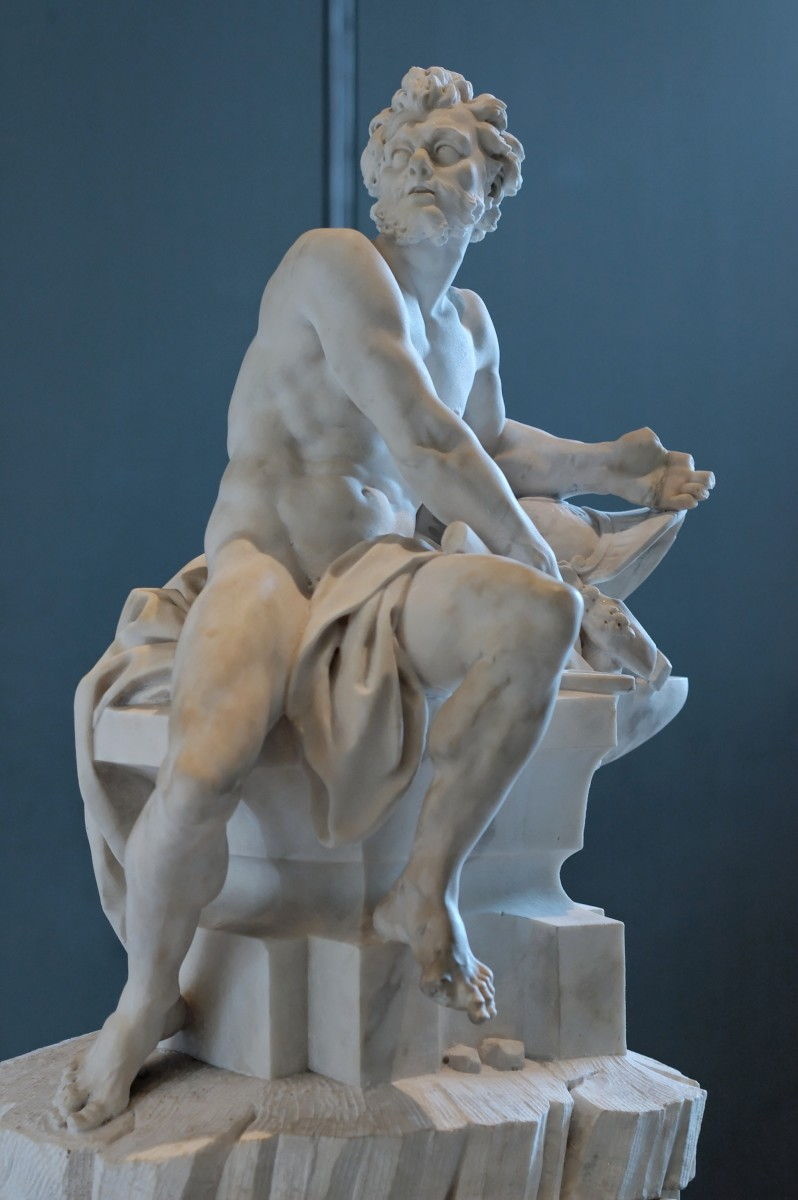 Hephaestus was Aphrodite's first husband