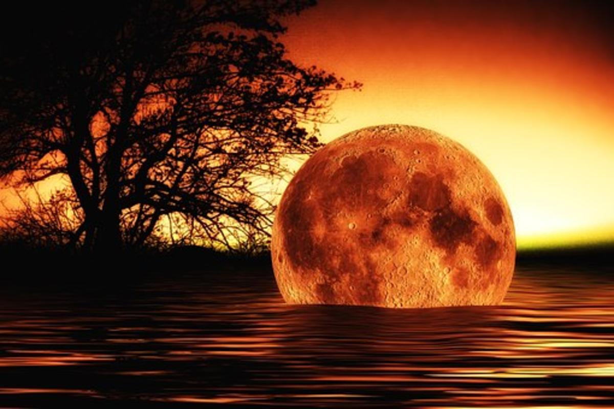 A Mars, Aries Full Moon.
