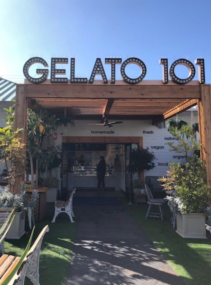 Cool down with a stop at Gelato 101.