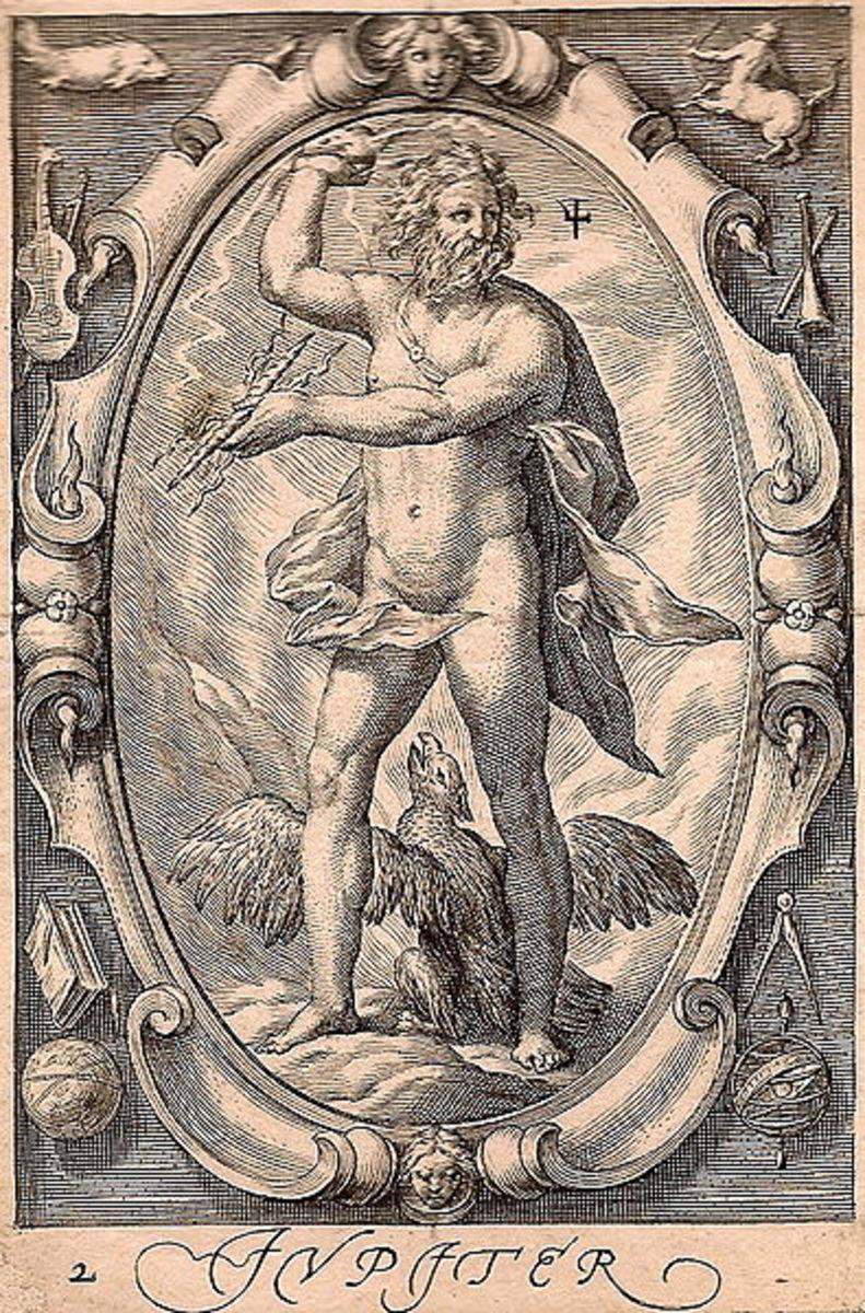 Zeus/Jupiter: Olympian king of the gods, shared under CC0 1.0 Universal: https://creativecommons.org/publicdomain/zero/1.0/legalcode