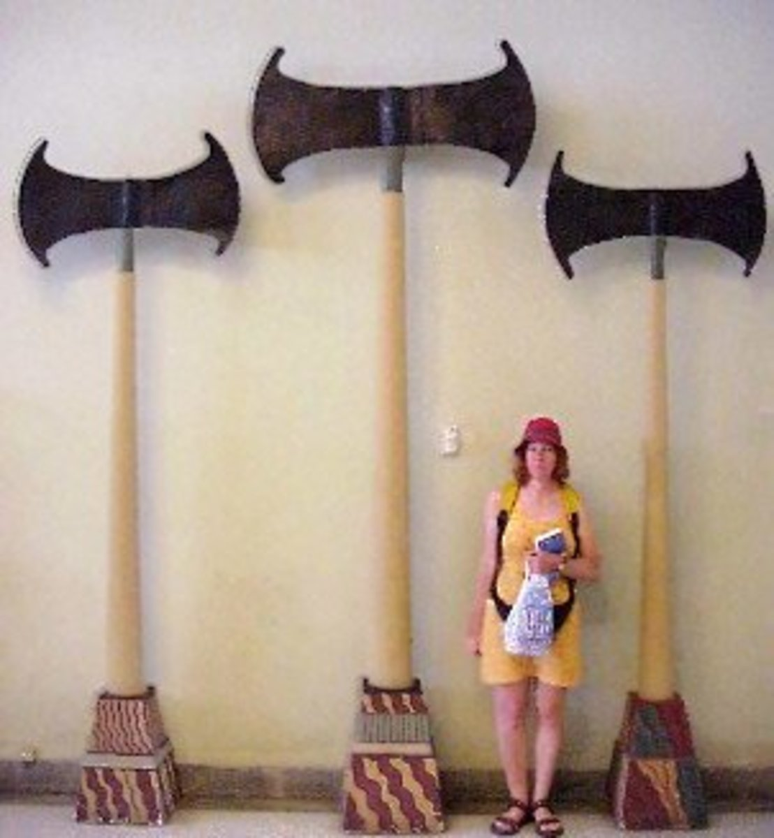 Giant Axes found in Sumer