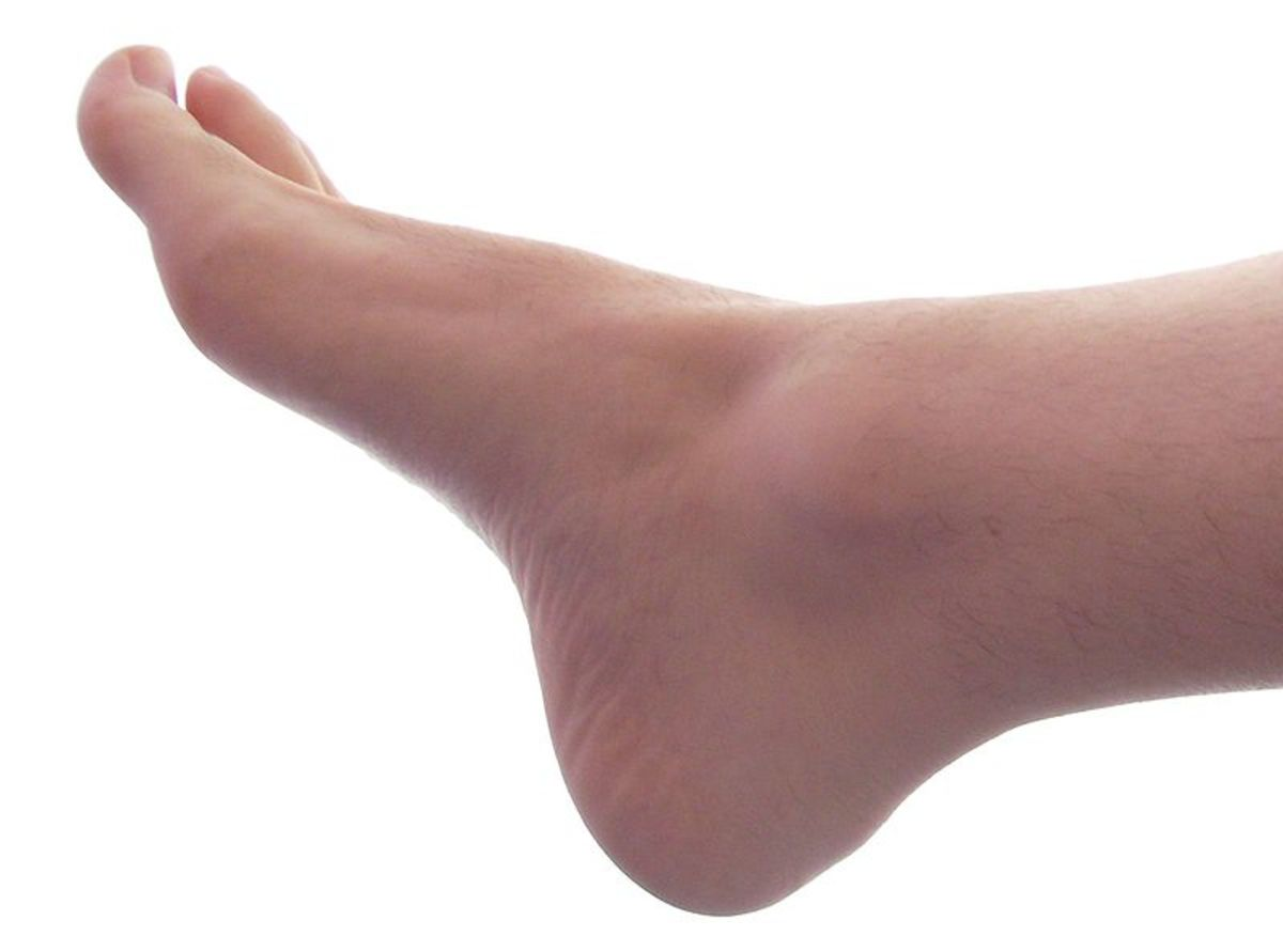 A bare foot could symbolize the need to strip all pretenses and take an unbiased position on an issue.