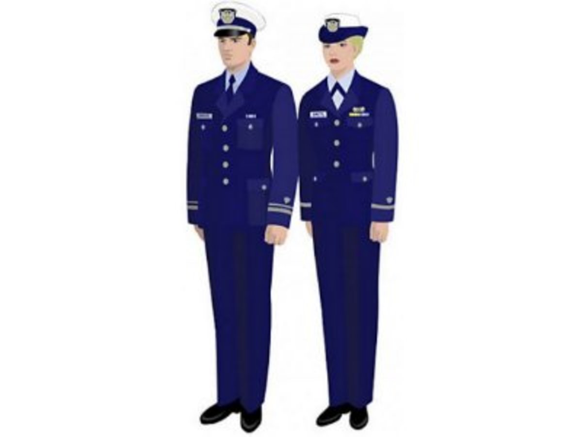 Navy uniforms may warn the dreamer he is losing his individuality and feels lost amongst societal pressures.
