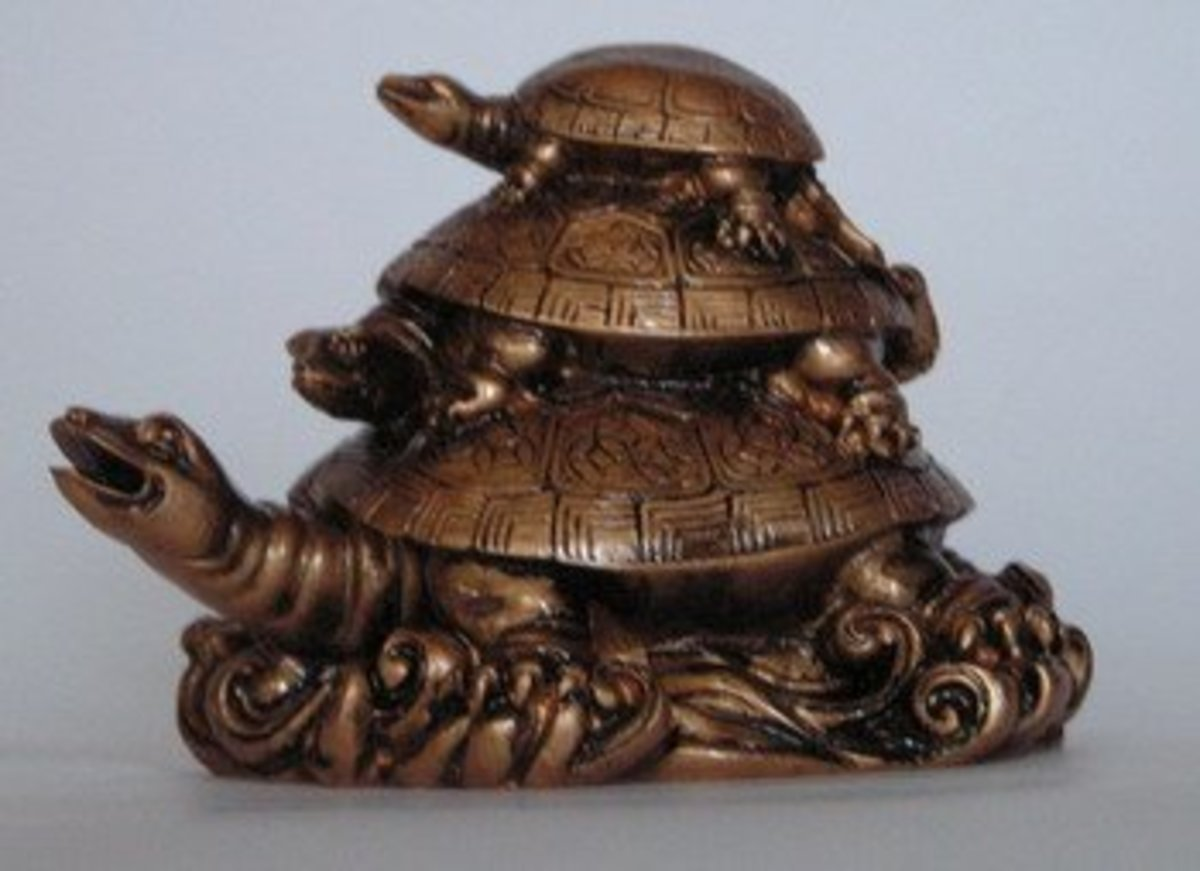 Turtle symbolizes plenty of good things