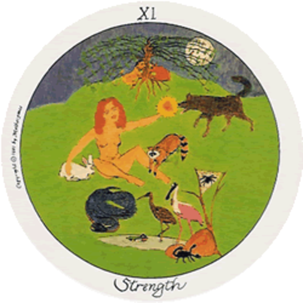 The Goddess Brigid of Ireland shows that gentleness and kindness are both parts of Strength.