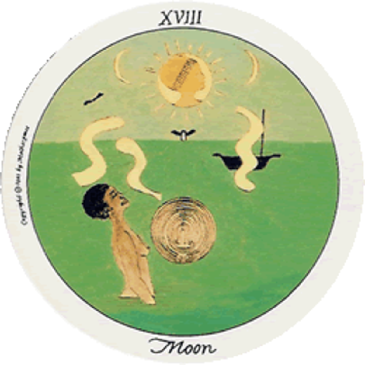 The Moon is about changes that we choose to make ourselves, though it can be a period of confusion.