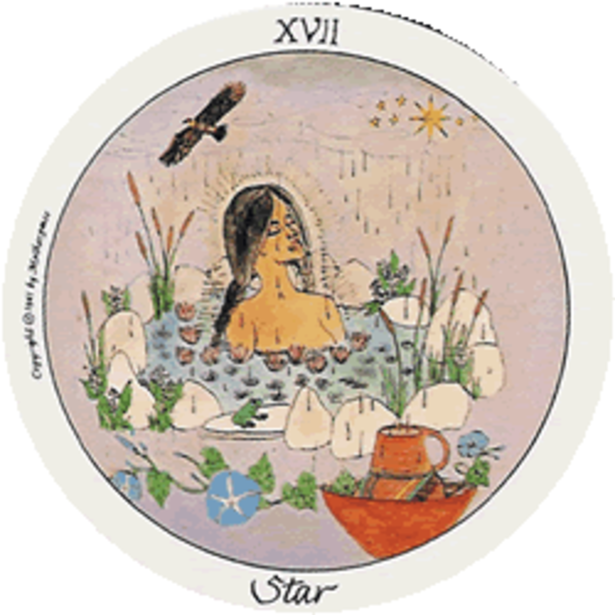 The Star is a time of relaxed healing from a trauma of some type
