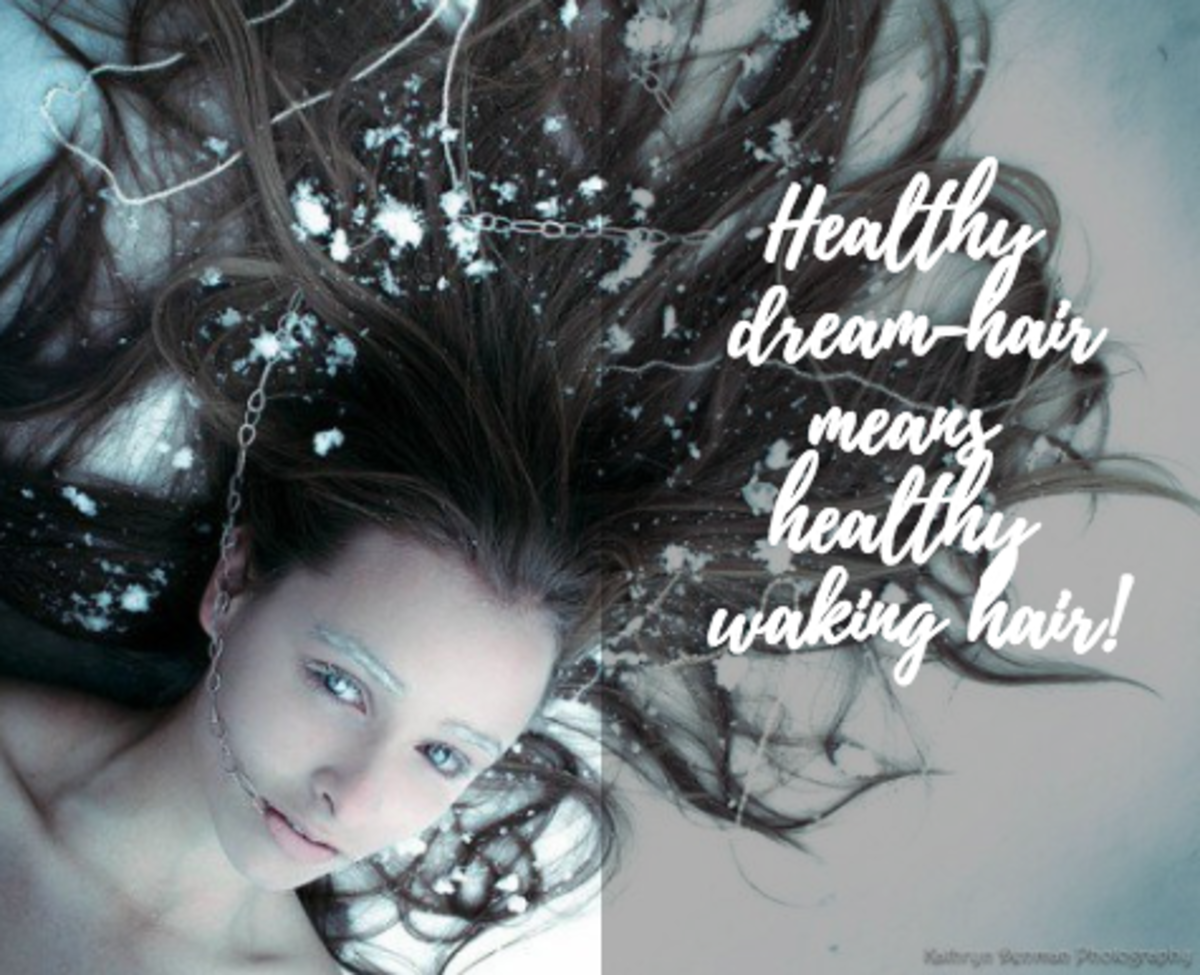 Healthy dream hair symbolizes a healthy waking life.