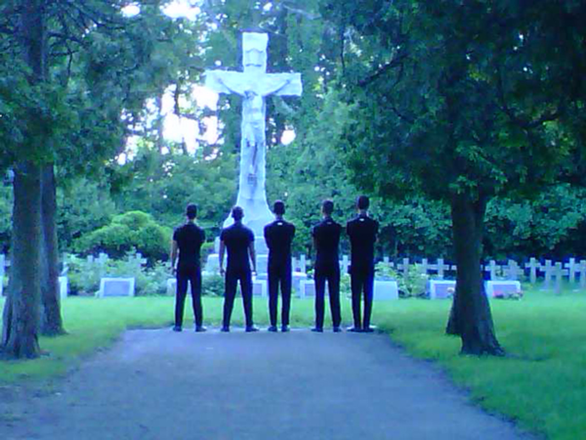 Cemetery at Benedictine University