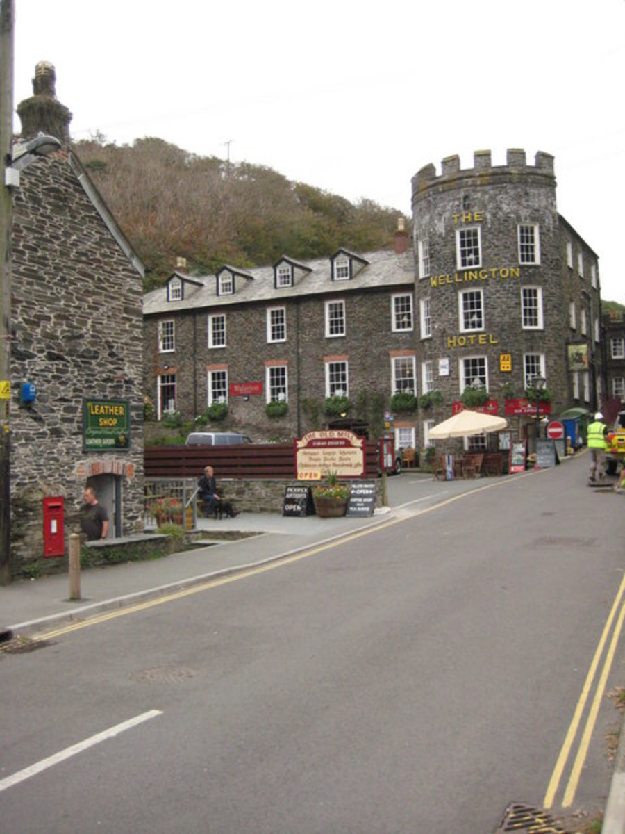 Wellington Hotel, Boscastle