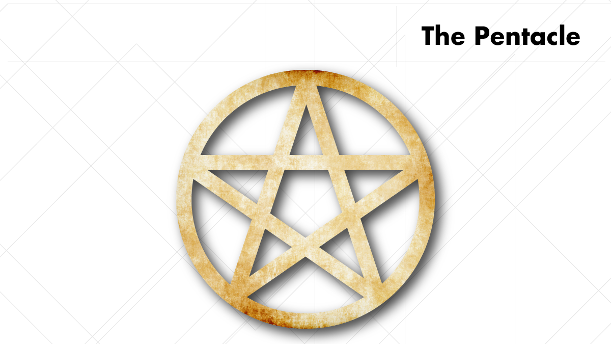 The Pentacle is possibly the most well known but often misunderstood pagan symbol.