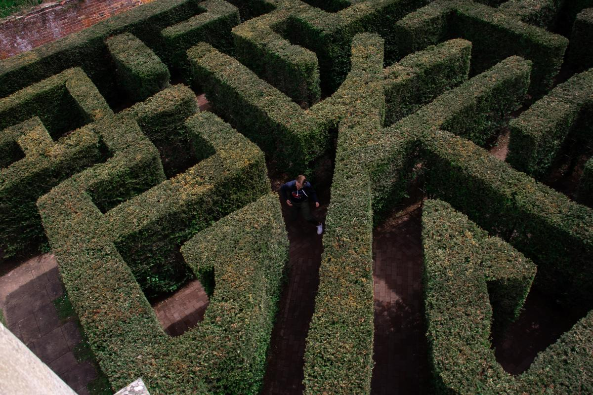 Sometimes navigating our dreams can feel like being trapped in a labyrinth.