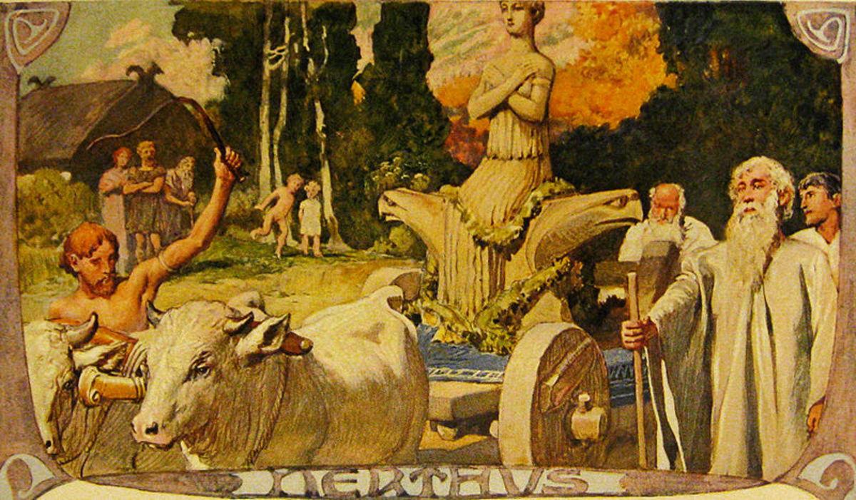 Nerthus by Emil Doepler, 1905.