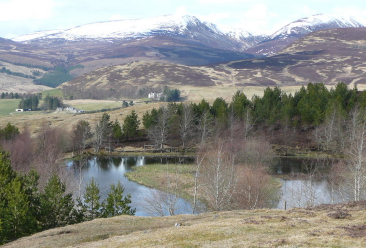 Blair Atholl and area with many stories and legends of vampires and other supernatural creatures.