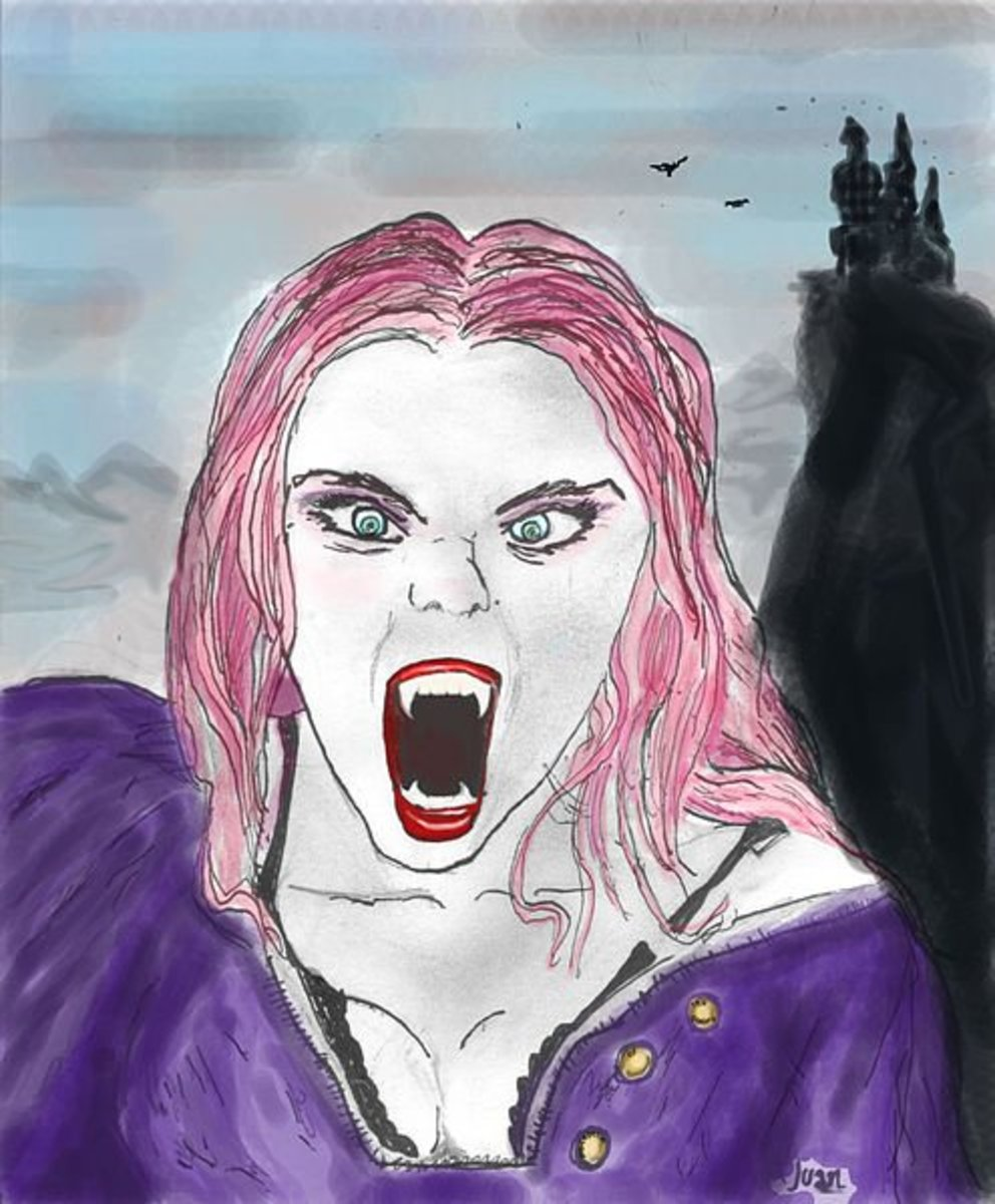 Female vampires are very common in Scottish myths and legends.