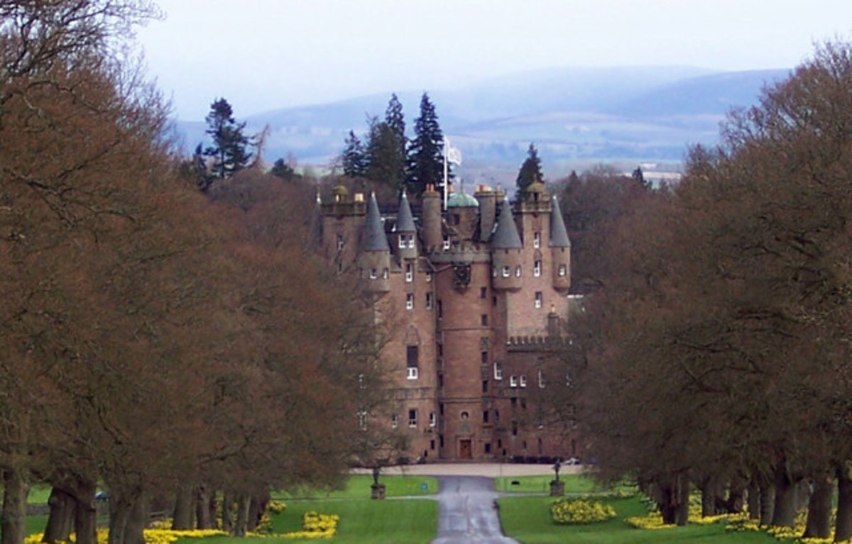 Glamis Castle has many terrifying stories such as vampires.