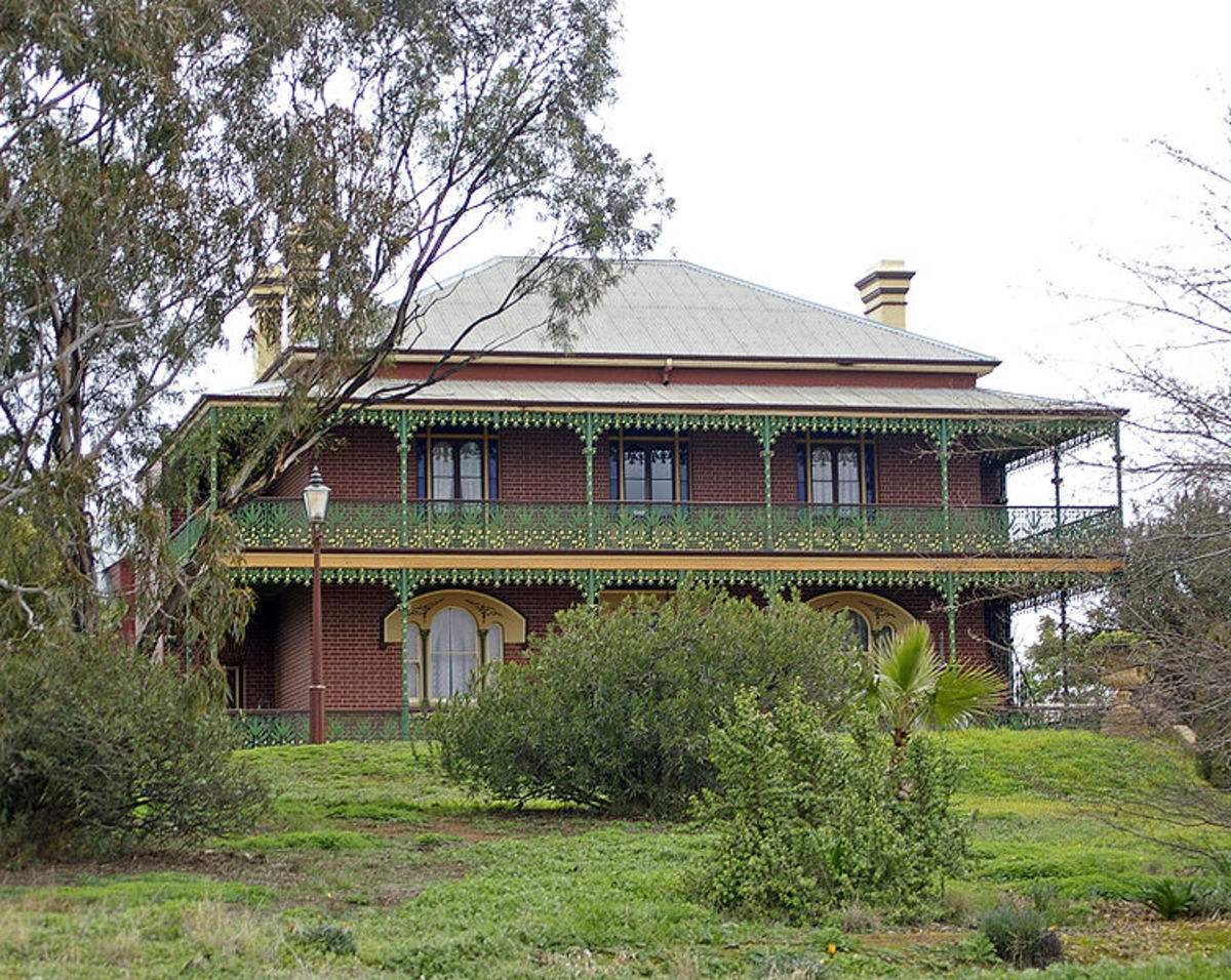 The beautiful but sinister Monte Cristo Homestead in Junee, NSW