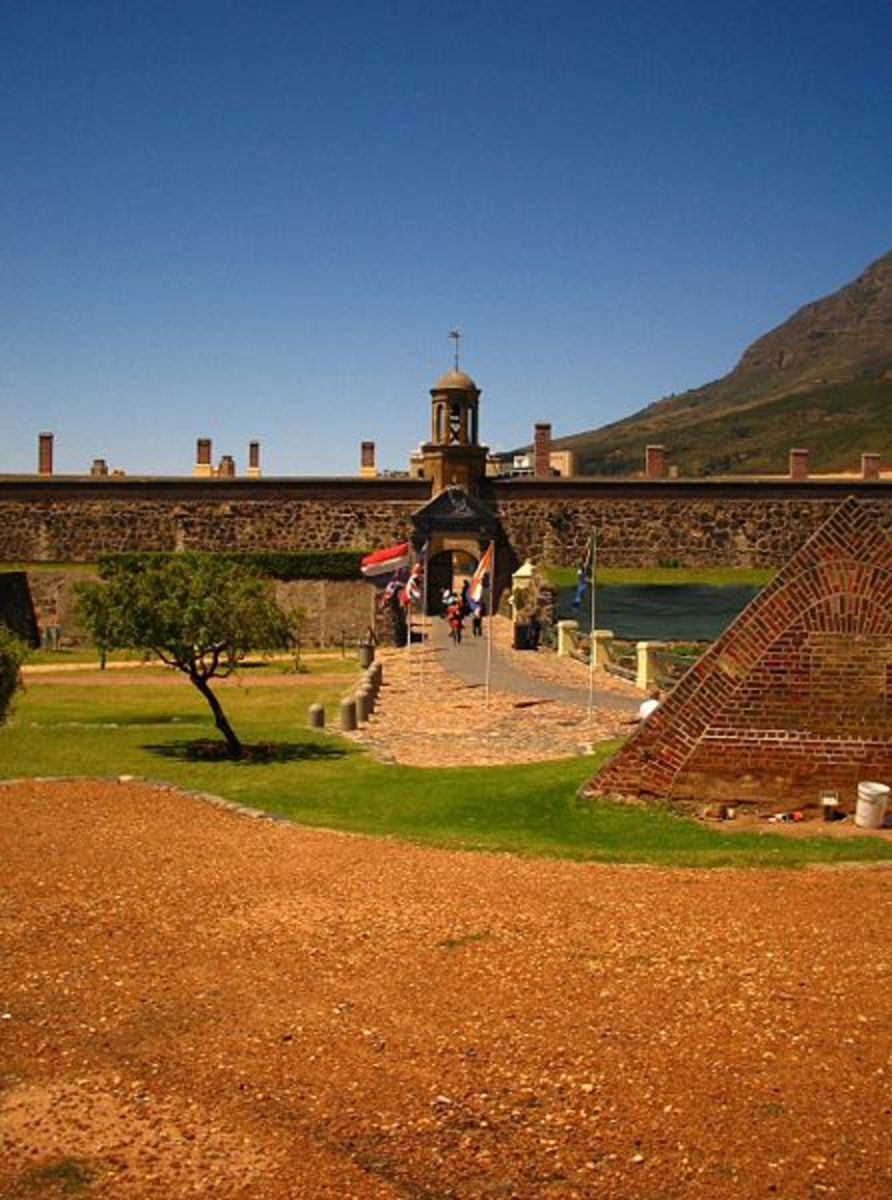 Several ghosts haunted South Africa's oldest colonial building