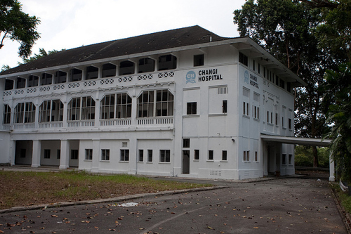 The old hospital at Changi now houses only ghosts, according to many locals.