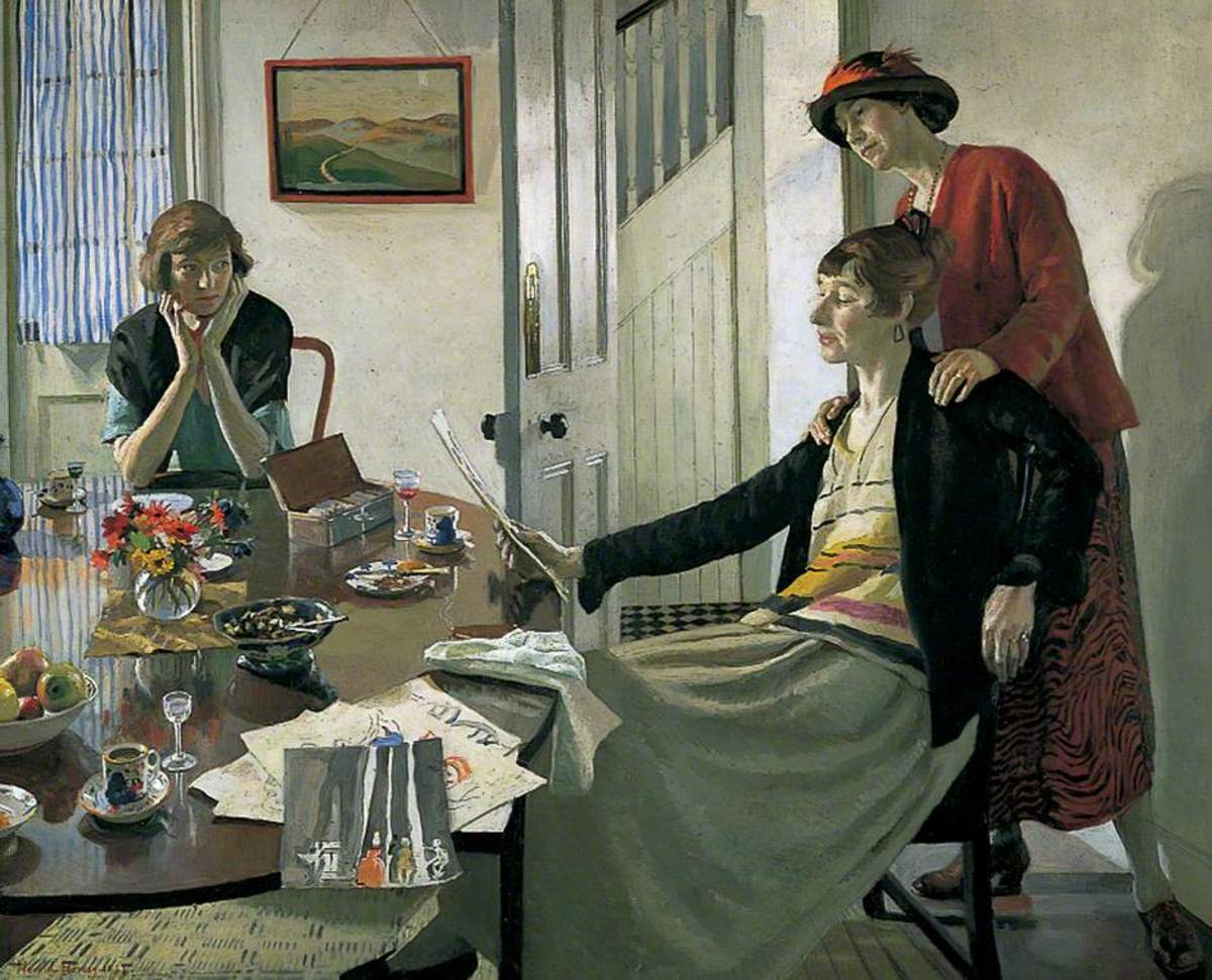 """The Critics"" by Harold Harvey"