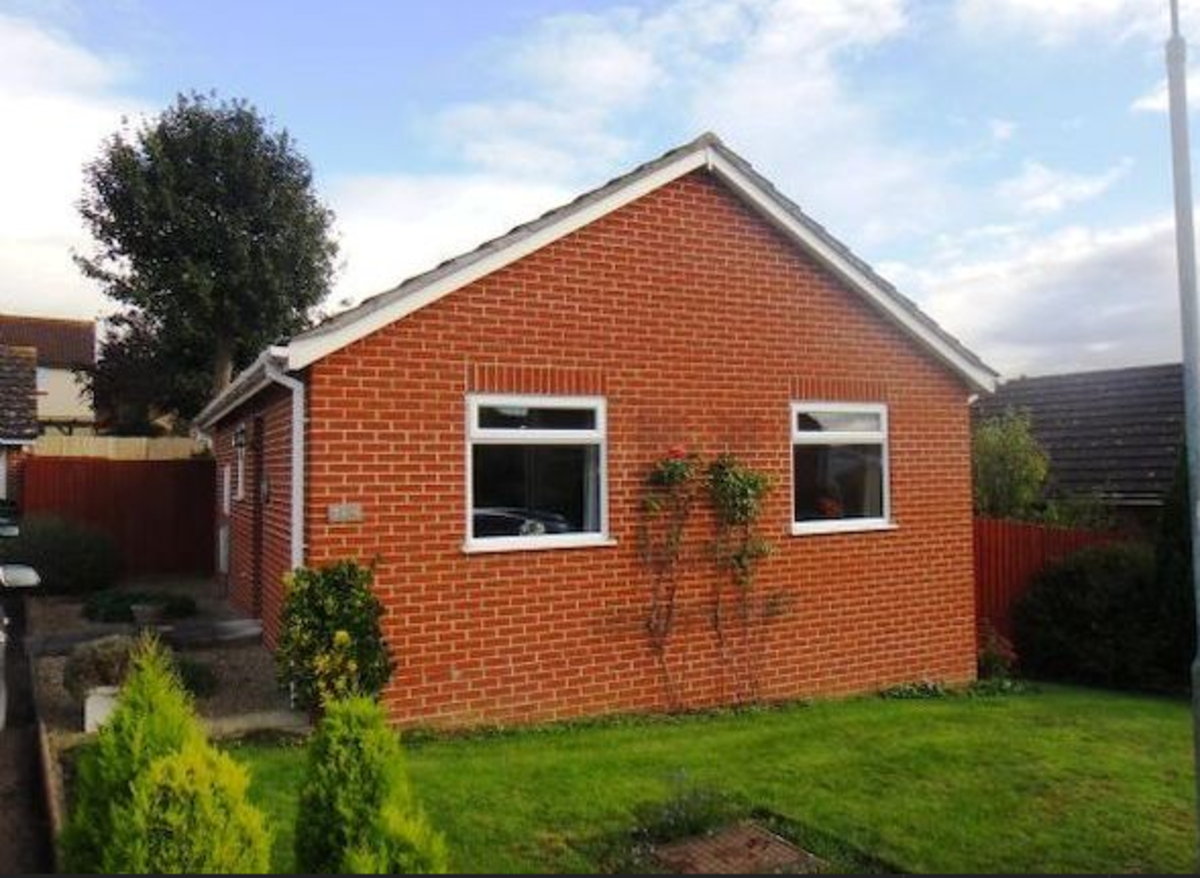 Sample picture of one of the bungalows for sale