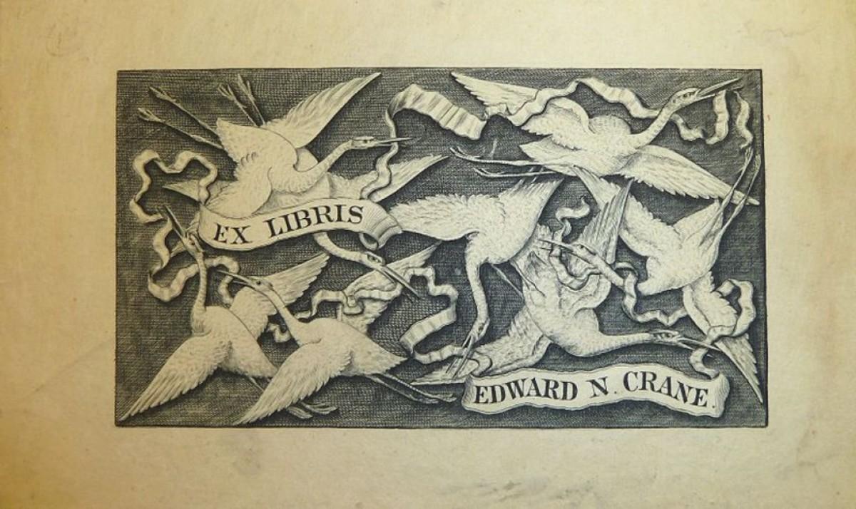 Walter Crane book plate.