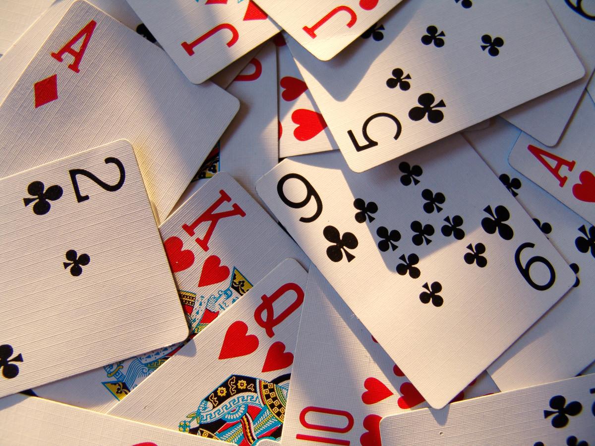 Playing cards hone ESP skills.