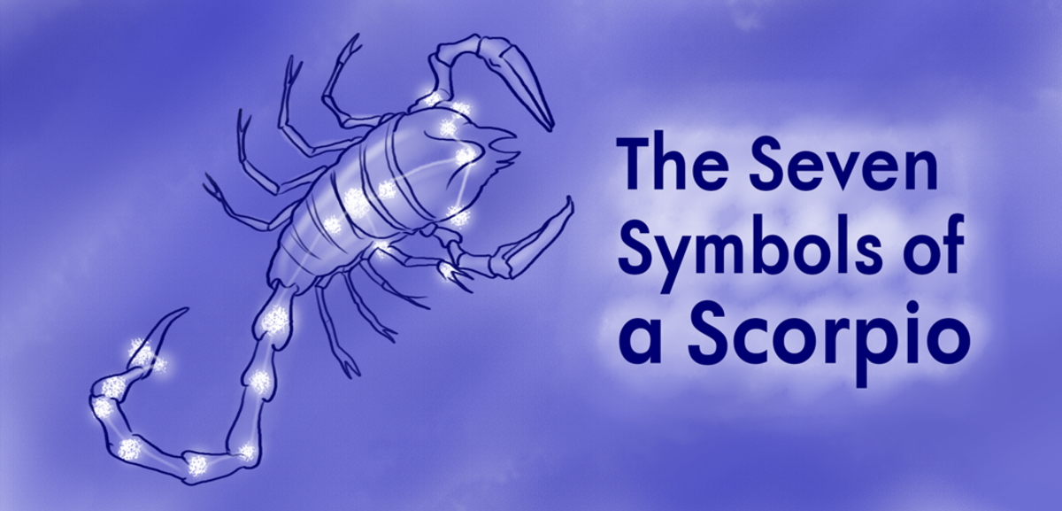 The astrological sign Scorpio has seven symbols.