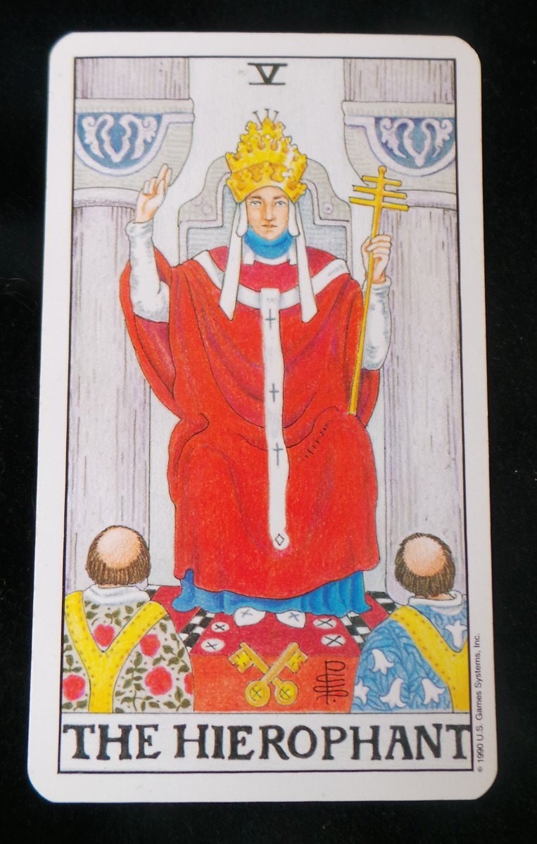 Universal Waite Tarot Deck By Mary Hanson Roberts Arthur: How To Read Fives In Tarot