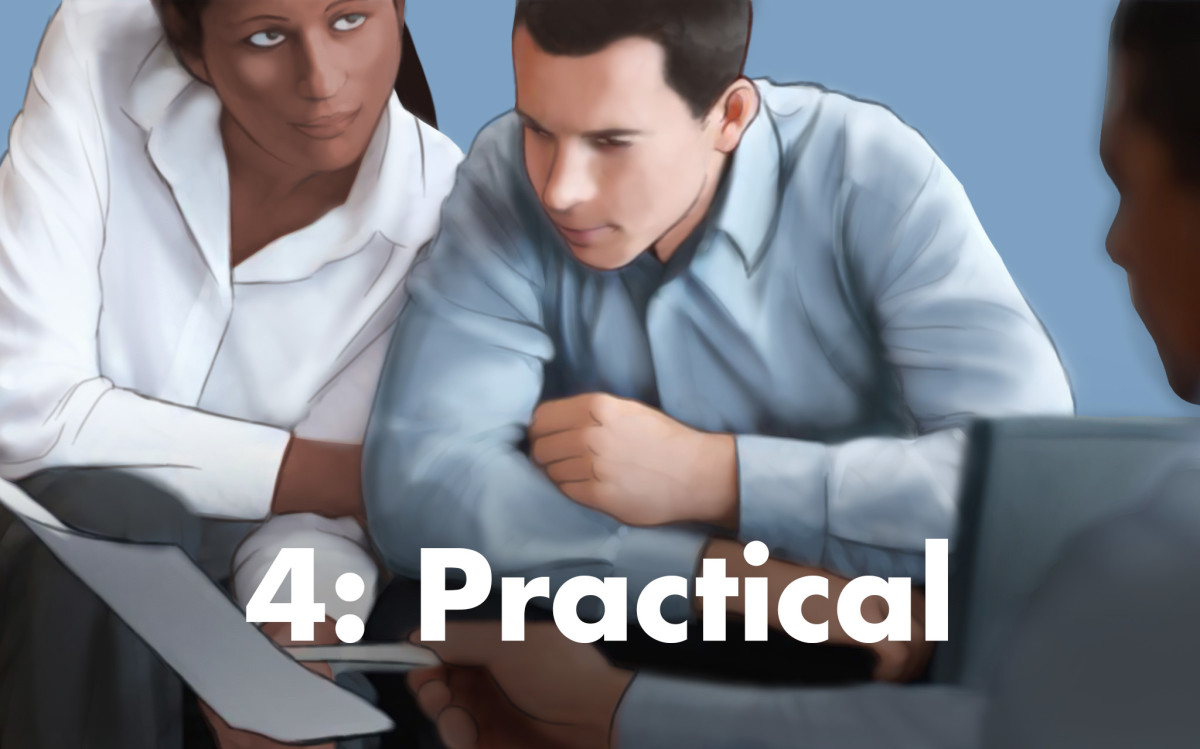 According to numerology, people associated with the number four tend to be practical.