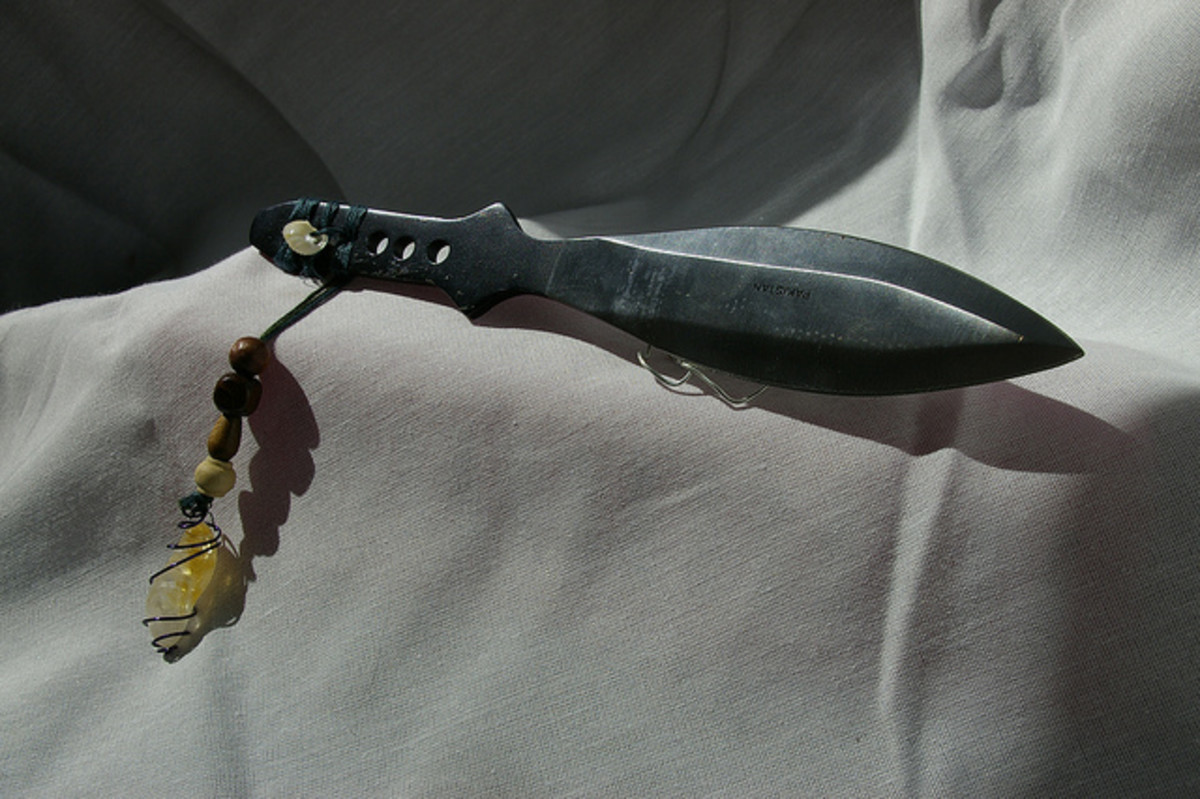 One example of an athame.
