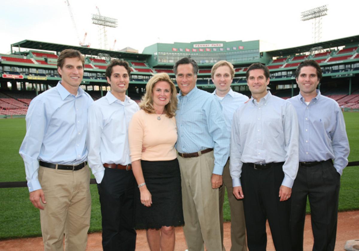 The Romney Family.
