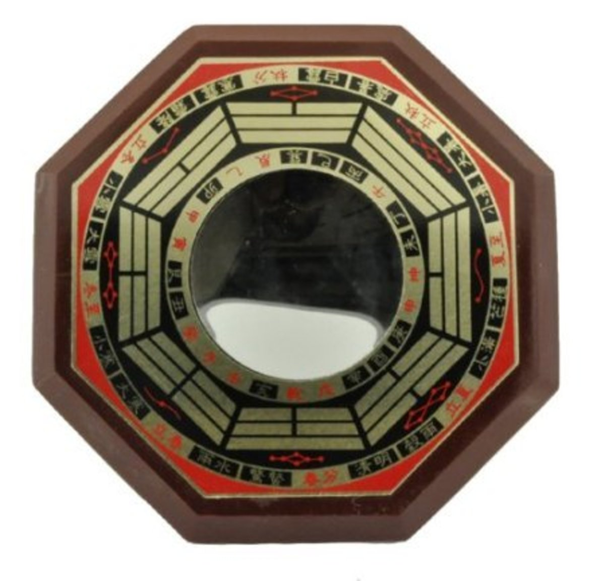 This type of mirror can be placed in various areas of the home to create a great flow of positive feng shui energy