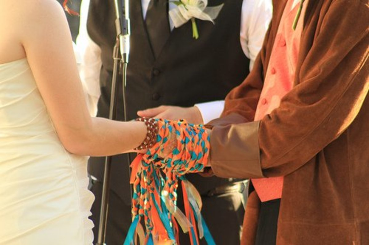 Handfasting was and still is common during Summer