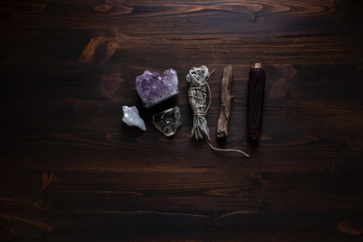 Smudge-sticks are an important part of Wiccan cleansing rituals.