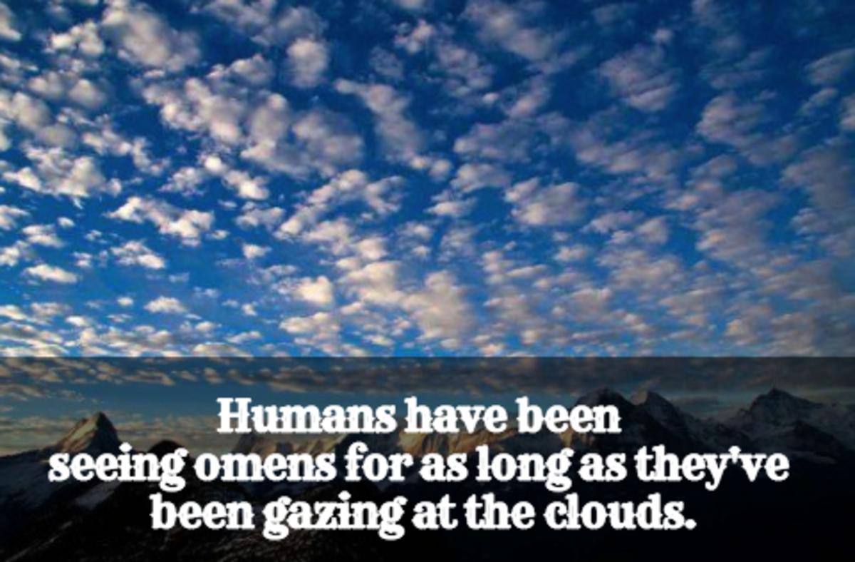 Cloud patterns over Switzerland.